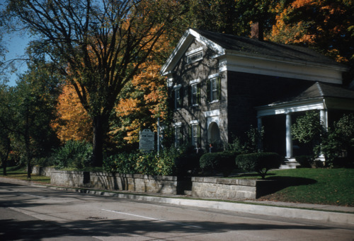 Cushman Stone House.
