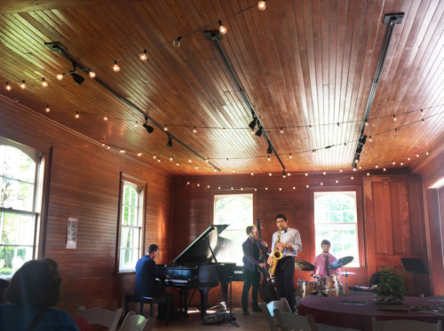 Jazz brunch in the carriage barn at the Park-McCullough House.