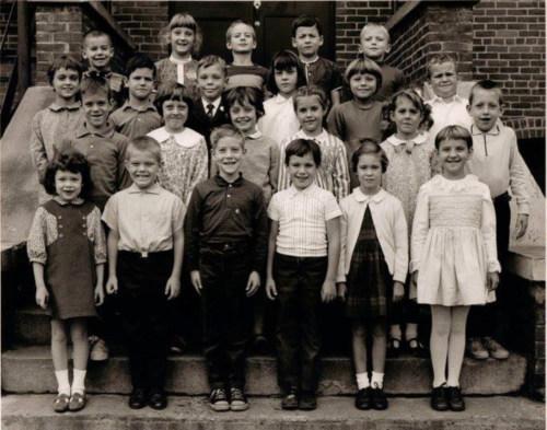 Second grade, 1967.