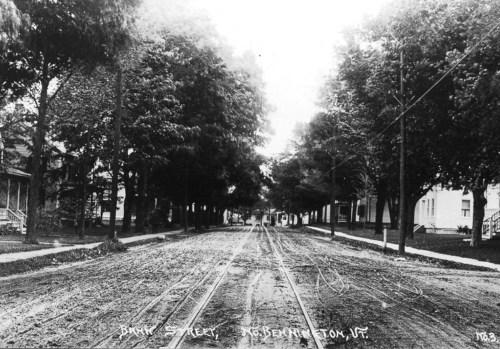 Bank Street,1921.