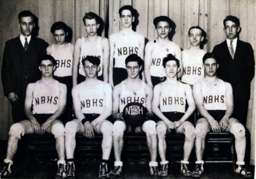 Basketball team, 1933-34.