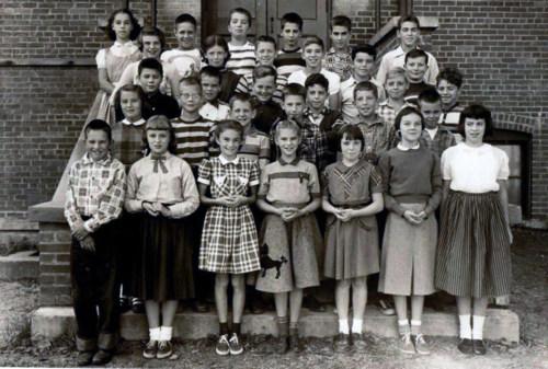 Class photo, 1954.