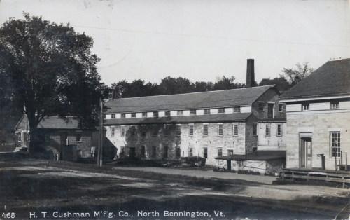 Cushman factory, 1916.