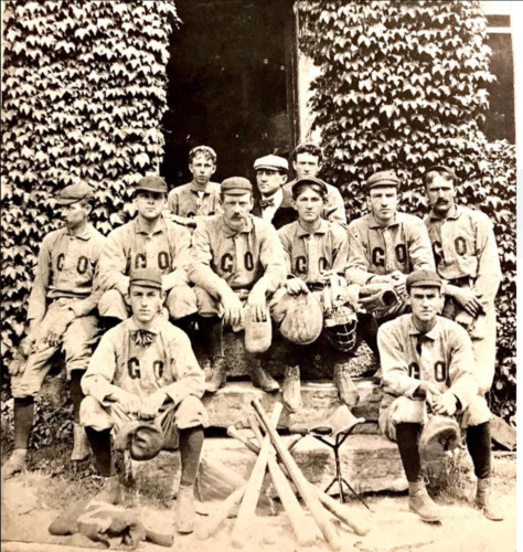 Cushman baseball team 1902.