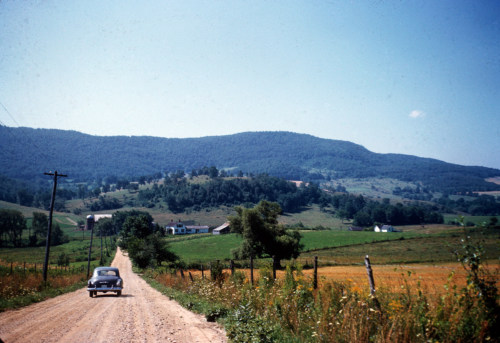 Pleasant Valley Road, Bennington, 1950s.