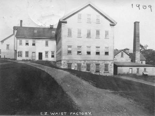 EZ Waist mill buildings, 1909