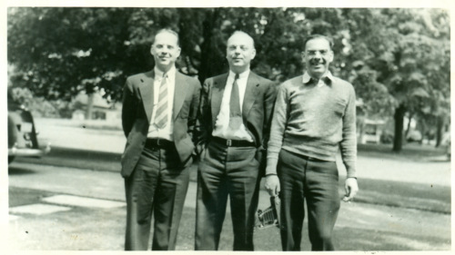 Edward, Charles and Frederick Welling, 1935.