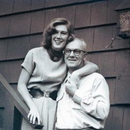 Erving MacDonald and daughter Sally.