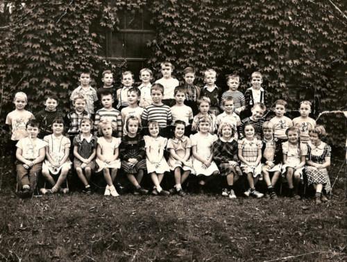 First grade, 1949.