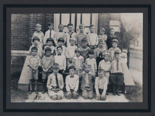 First grade, about 1926.