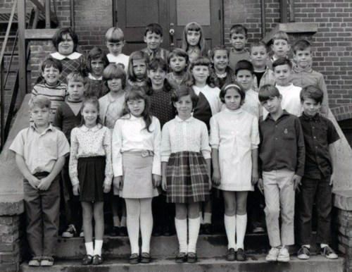 Fourth grade, 1969.