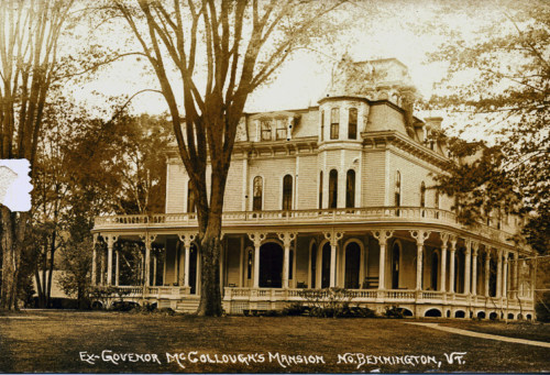 """Gov. McCullough's House"" c1915."