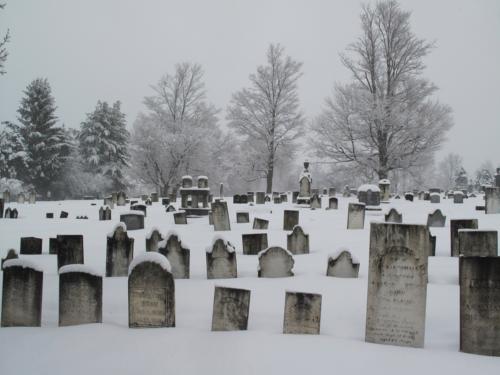 Grandview cemetery.