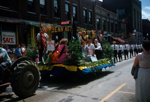 Grange float, North Street, Bennington.