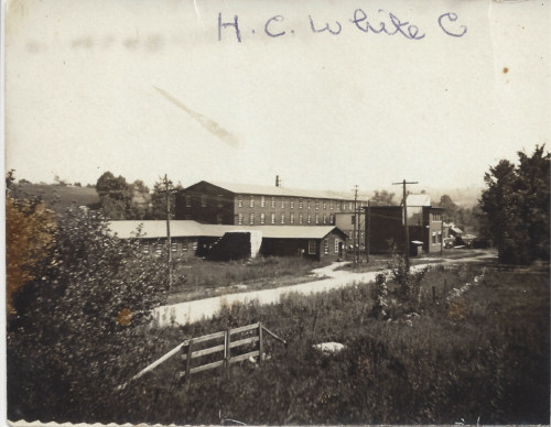 HC White Co., about 1910.