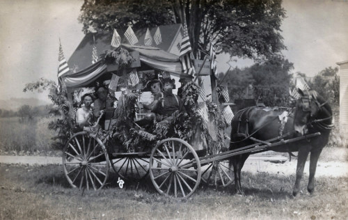 Hall Farm Float c1912.