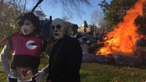 Halloween parade fire 2016