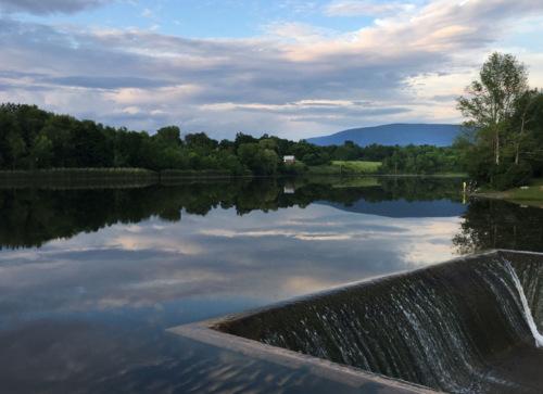 Lake Paran June twilight
