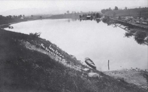Lake Paran, about 1900.