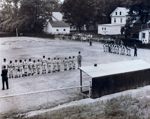 Little League field and lineups