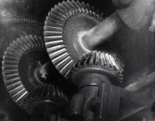 Machinery gears.