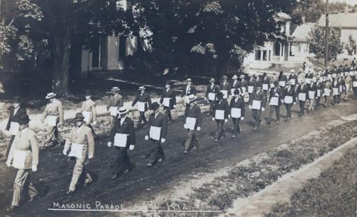 Masonic Temple marchers, 1912.