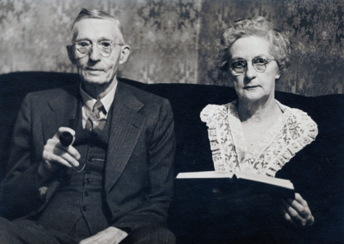 Myrtle and Fred Warner.