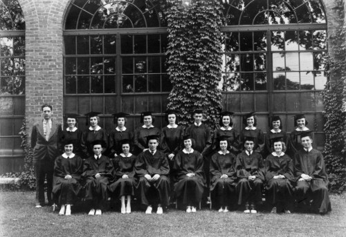 NBHS Class of 1939 graduation.