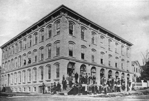 Boot and Shoe Company, about 1880 (at location of McCullough Library).