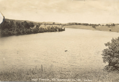 Paran Lake looking west, 1914.