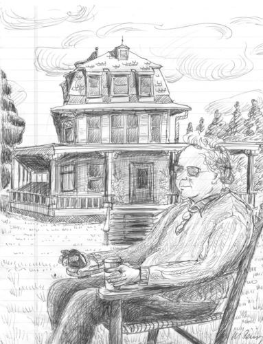 Paul Bruhn, the late president of Preservation Trust of Vermont, who helped inspire founding of The Fund for North Bennington. ©