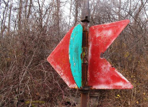 Rail signal.