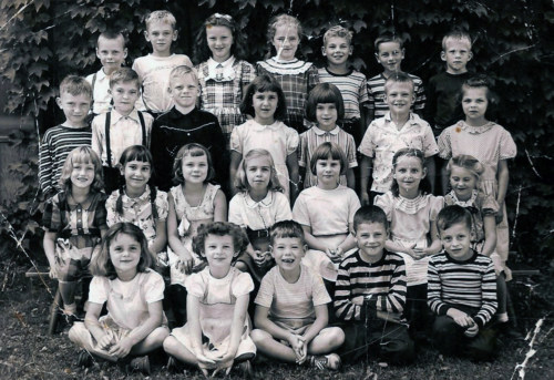 Second grade, about 1951.