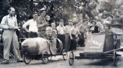 Soapbox Derby, c1940s.