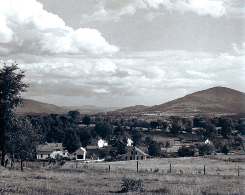 South to Mt. Anthony, c1950.