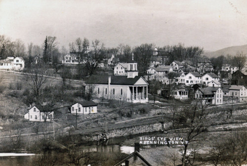 Old St. Johns and west side of village, c1910.