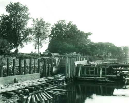State Line dam.