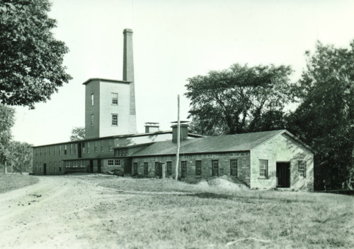 State Line Mill, Sodom, about 1900.