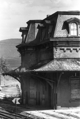Railroad Station 1969.
