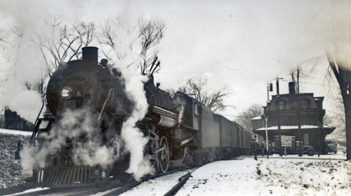 Steam train circa 1950