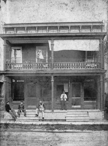 Store on Main Street, 1896.
