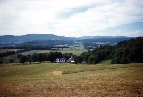 Hoosick landscape, c1950s.