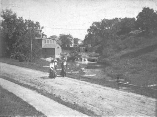 Below the falls circa 1900