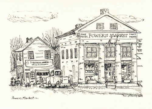 Powers Market. ©