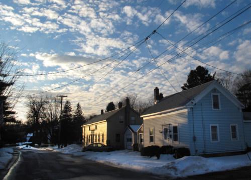 Sage Street at sunset