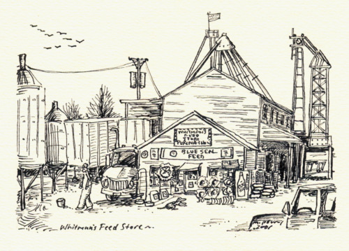 Whitman's Feed, 2001. ©